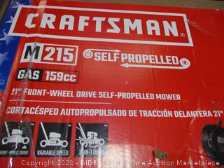"Craftsman Self Propelled 21"" Front-Wheel Drive Self Propelled Mower"