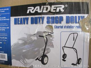 Raider Heavy duty shop dolly  possibly missing part
