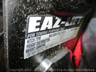 Recurve Eaz-lift for towing Purposes only  possibly missing parts