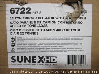 22 Ton Truck Axle Jack