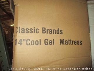 "Classic Brand King 14"" Cool gel Mattress"