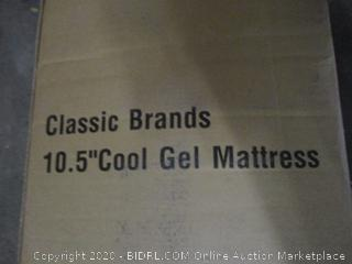 Classic Brands 10.5 Cool Gel Mattress King