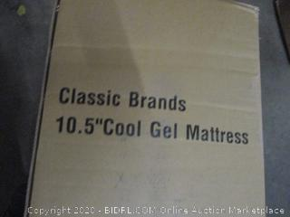 Classic Brands 10.5 Cool Gel Mattress King