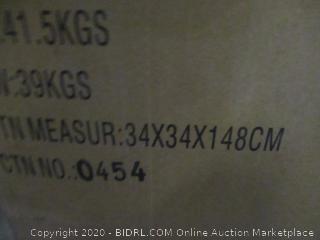 Classic Brands 12 Inch Hybrid Cool Gel Memory Foam Mattress  Full