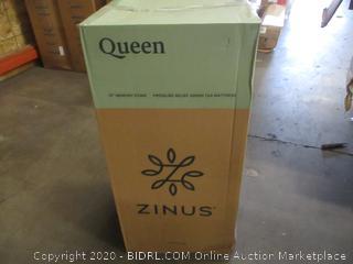 """Zinus 10"""" memory Foam Mattress queen"""