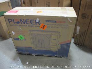 Pioneer Ductless split Air Conditioner  Horizontal discharge split Outdoor section