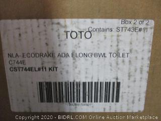 TOTO NLA Ecodrake ADA Elong Bwl Toilet