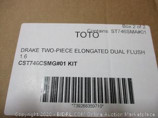 TOTO Drake two piece elongated dual flush