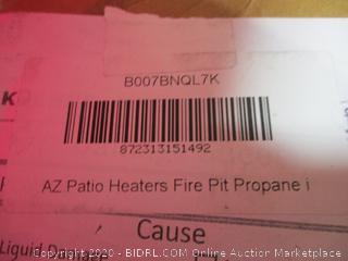 AZ Patio Heater Fire Pit Propane