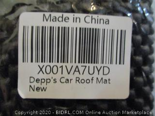 Depp's Car Roof Mat