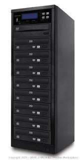 Spartan 12X All-in-One 8 Targets SATA Blu Ray Tower Duplicator with Pioneer Drive (Duplication Tower from SD;CF;USB;BD/DVD to BD/DVD Disc) Factory sealed (online $3,334)