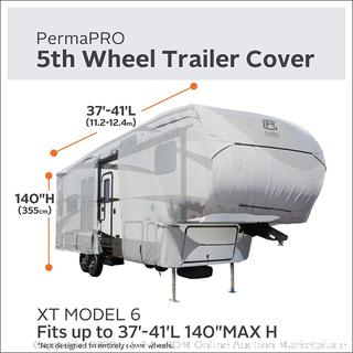 Classic ACC OverDrive PermaPro Heavy Duty Cover 37'-40' EXTall 5th Wheels Trailer (online $529) cover only