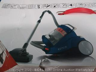 Severin Bagless Canister Blue Vacuum Cleaner ocean blue(Factory Sealed)COME PREVIEW!!!!! (online $214)