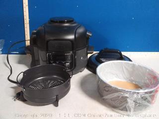 Ninja Foodi 7-in-1 Programmable Pressure Fryer, Slow(powers on) online $170