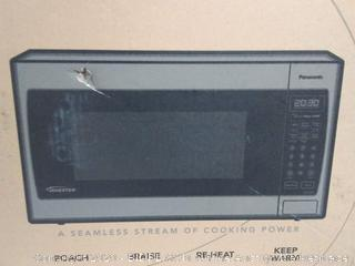 Panasonic inverter Precision cook microwave stainless steel(Factory Sealed/Box Damage) COME PREVIEW!!!! (online $188)