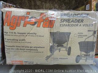 Agri-Fab 110-Pound Push Broadcast Spreader