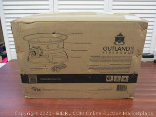 Outland Firebowl 893 Deluxe Outdoor Portable Propane Gas Fire Pit, 19-Inch Diameter 58,000 BTU