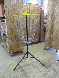 Verus Sports TG460 Regulation Expert Disc Golf Basket, Yellow (Retail $170)