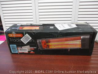 Heat Storm Tradesman Outdoor Garage and Patio Infrared Space Heater - 1500 Watts