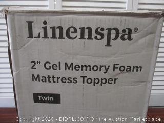 2 Inch Twin Topper