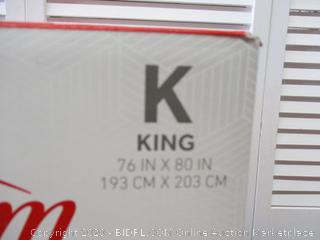 King Heated Mattress Pad