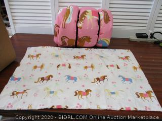 Wildkin Kids Microfiber Sleeping Bag, Includes Pillow Case
