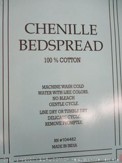 Queen Chenille Bedspread