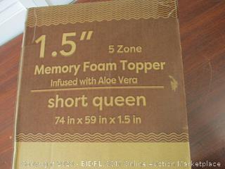 1.5 Inch Queen Topper