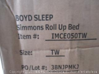 Simmons Roll-Up Bed