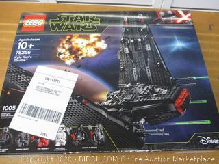 LEGO Star Wars: The Rise of Skywalker Kylo Rens Shuttle 75256 Star Wars Shuttle Action Figure Building Kit