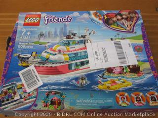 LEGO Friends Rescue Mission Boat 41381 Toy Boat Building Kit