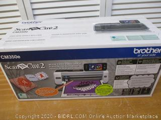 Brother CM350E ScanNCut2 (Retail $350)
