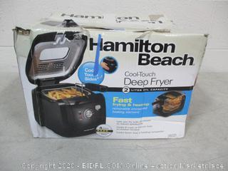 Hamilton Beach Deep Fryer