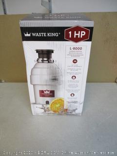 Waste King Garbage Disposal (Powers On)