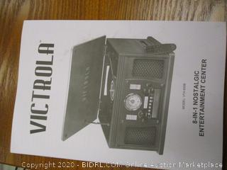 Victrola 8-in-1 Turntable (Powers On)