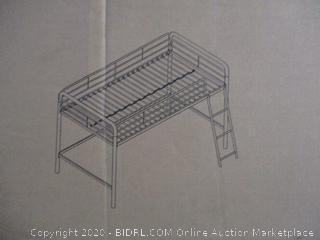 Junior Metal Loft Bed