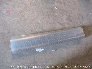 Plastic Floor Mat (See Pictures)