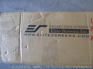 Elite Screens Light Rejecting Fixed Frame Screen