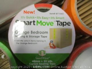 Smart Move Boxes and Tape (See Pictures)
