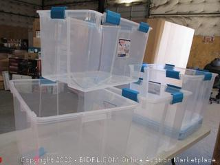 Sterilite Storage Boxes
