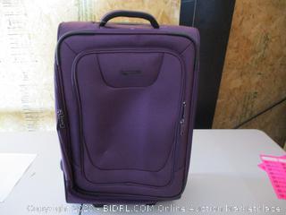 Amazon basics suitcase