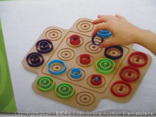 Otrio – Strategy-Based Brain Board Game