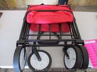 Outdoor Collapsible Utility Wagon
