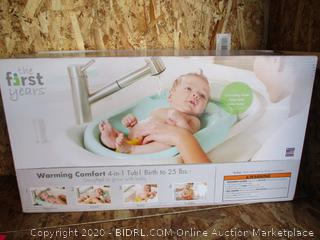 The First Years Warming Comfort 4-in-1 Bath Tub