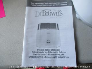 Dr. Brown's Natural Flow Deluxe Bottle Sterilizer