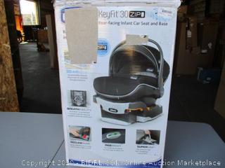 Chicco KeyFit 30 Zip Air Infant Car Seat (Retail $200)