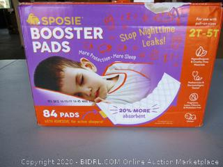 Sposie Overnight Diaper Booster Pads with Adhesive for Pull-on Diapers