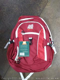 NEW High Peak Alpinizmo Vector 38 Backpack Red Black One Size