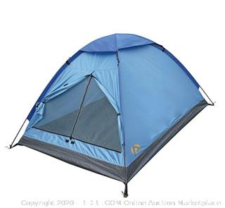 Alpinizmo High Peak USA Monodome 3 Person Tent, Blue