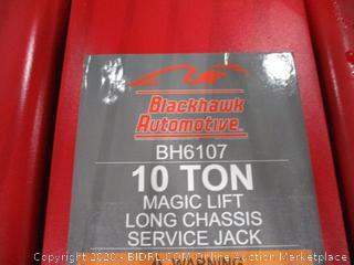 Blackhawk Automotive 10 Ton Long Chassis Service Jack